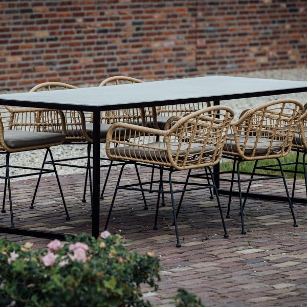 Keramische buitentafel keramische tafels