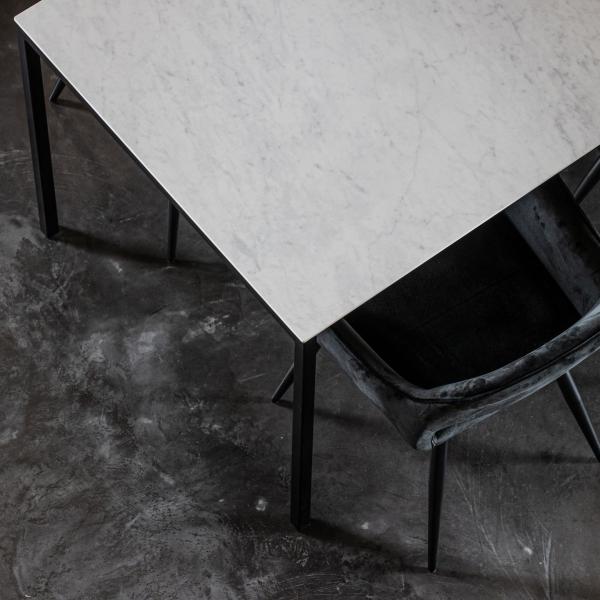 Keramische tafels Carrara Isabelle recht