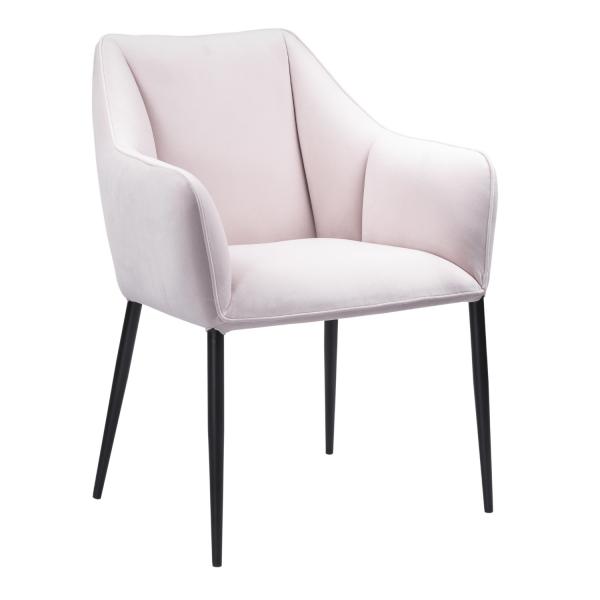 Velvet stoel Giovanni Blossom